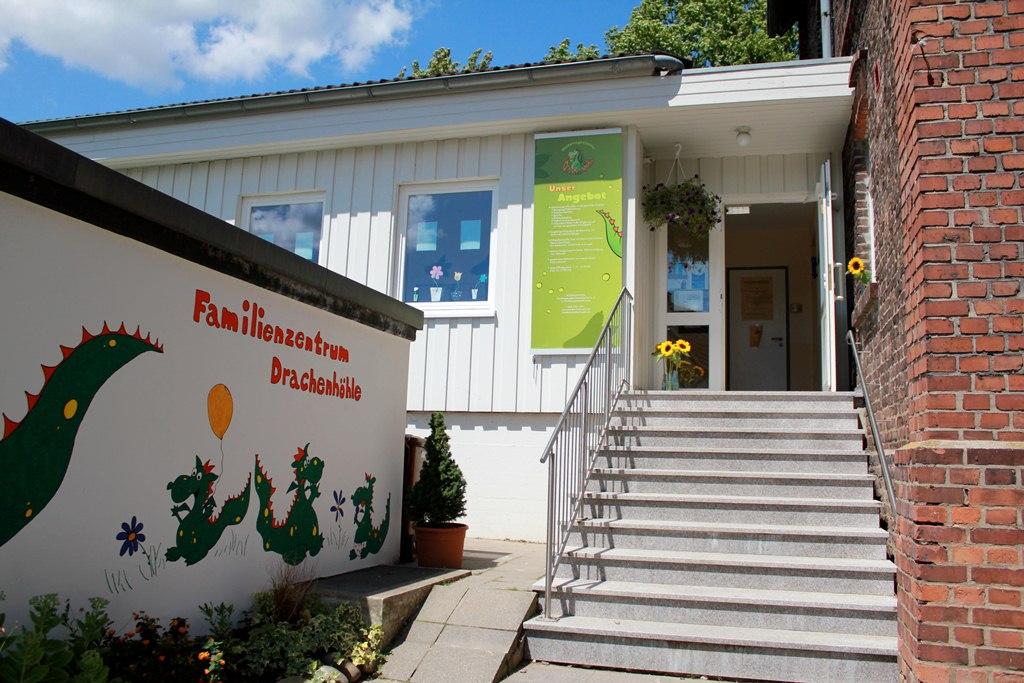 Eingang Familienzentrum